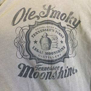 Next Level Apparel Graphic Tee Tennessee Moonshine
